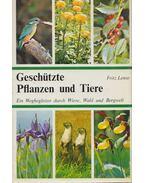 Geschützte Pflanzen und Tiere - Fritz Lense