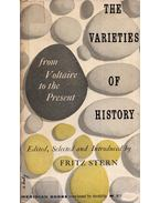 The varieties of history from Voltaire to the present - Fritz Stern