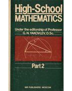 High-School Mathematics - G. N. Yakovlev