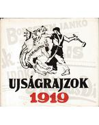 Újságrajzok 1919 - Gábor Imréné, Rudas Klára