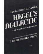 Hegel's Dialectic - Gadamer, Hans-Georg