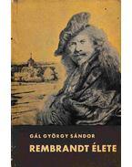 Rembrandt élete - Gál György Sándor