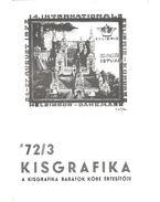 Kisgrafika 72/3 - Galambos Ferenc