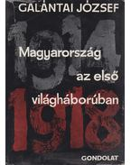 Magyarország az első világháborúban (dedikált) - Galántai József