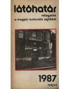 Látóhatár 1987 május - Garai Gábor