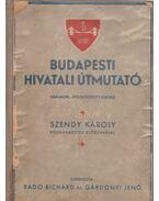 Budapesti hivatali útmutató - Gárdonyi Jenő, Radó Richárd