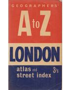 Geographers' A to Z London