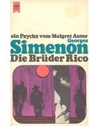 Die Brüder Rico - Georges Simenon