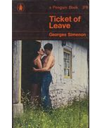 Ticket of Leave - Georges Simenon
