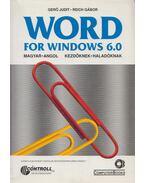 WORD For Windows 6.0 - Gerő Judit - Reich Gábor