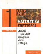 Matematikaérettségi 1 - Gerőcs László