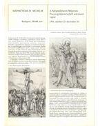 A Szépművészeti Múzeum Praun-gyűjteményből származó rajzai - Gerszi Teréz