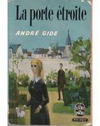 La porte étroite - Gide, André