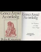 Az örökség (dedikált) - Göncz Árpád