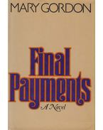 Final Payments - GORDON, MARY