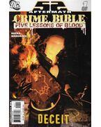 52 Aftermath: Crime Bible Five Lessons of Blood 1. - Greg Rucka, Mandrake, Tom