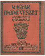 Magyar Iparművészet XXV. évf. 1-4 szám - Györgyi Kálmán
