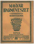 Magyar Iparművészet XXV. évf. 5-7 szám - Györgyi Kálmán
