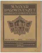Magyar Iparművészet XXVIII. évf. 1-2 szám - Györgyi Kálmán