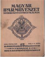 Magyar iparművészet XXXI. évfolyam 1-2. szám - Györgyi Kálmán