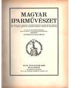 Magyar iparművészet XXXI-XXXII. évfolyam (egybe kötve) - Györgyi Kálmán