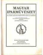 Magyar iparművészet XXXII. évfolyam - Györgyi Kálmán