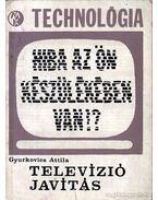 Televíziójavítás - Gyurkovics Attila