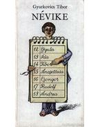 Névike - Gyurkovics Tibor