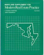 Maryland Supplement for Modern Real Estate Practice - H. Warren Crawford, John F. Rodgers