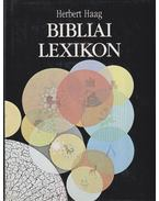 Bibliai lexikon - Haag,Herbert