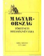 Magyarország történeti helységnévtára - Hajdú Mihály
