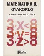 Matematika 6. - Gyakorló - HAJDU SÁNDOR