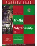 Halló, itt Magyarország II. + CD - Erdős József, Prileszky Csilla