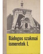 Bádogos szakmai ismeretek I. - Hansági Béla