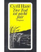 Der Tod ist nicht fair - Hare Cyril