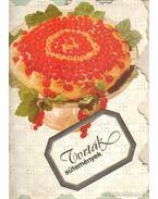 Torták, sütemények - Hargitai György