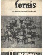 Forrás 1974/11 hatodik évfolyam - Hatvani Dániel