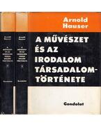 A művészet és az irodalom társadalomtörténete I-II. - Hauser Arnold