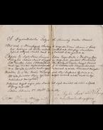 Házassági szerződés a [Tata] tóvárosi Supka János csapó mester és a Tata váralján élő Bán Rozália hajadon leány között. 1836.