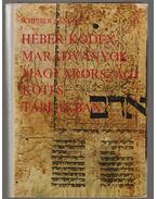 Héber kódexmaradványok magyarországi kötéstáblákban (dedikált) - Scheiber Sándor