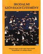 Irodalmi szöveggyűjtemény - Hegedűs Sándor, Varga Ilona