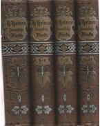 Heinrich Heine's Sammtliche Werke 1-12. (I-IV. kötet) - Heine, Heinrich