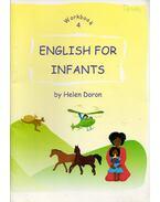 English for Infants - Workbook 4 - Helen Doron