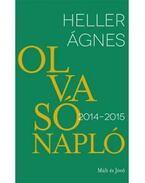 OLVASÓNAPLÓ 2015-2016 - ÜKH 2016 - Heller Ágnes