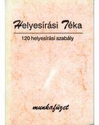 Helyesírási Téka - 120 helyesírási szabály
