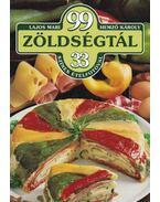 99 zöldségtál 33 színes ételfotóval - Hemző Károly, Lajos Mari
