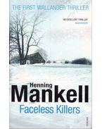 Faceless Killers - Henning Mankell