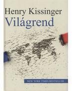Világrend - Henry Kissinger