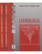 Ein Textbuch zur Lexikologie I-II. - Hessky Regina, Knipf Erzsébet