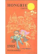 Hongrie carte 1985